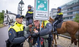 Anti Lockdown demonstratie