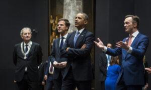 Barack Obama in het Rijksmuseum