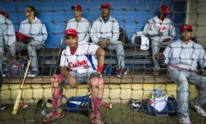 Het Cubaanse honkbalteam