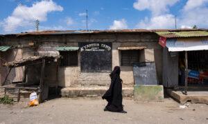 Gesluierd in Dar es Salaam