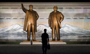 Standbeelden van Kim Il‑sung Kim Jong-il in Pyongyang