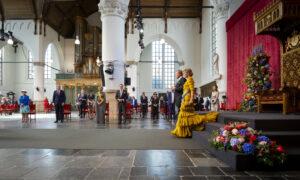 Koning Willem Alexander en koningin Maxima op Prinsjesdag