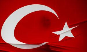 Demonstratie tegen de coup in Turkije