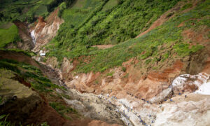 Conflict free coltanmijn in Congo
